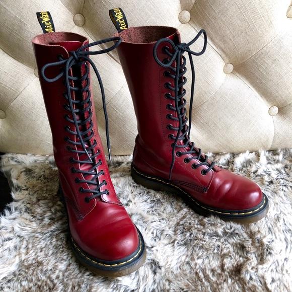 Dr. Martens Shoes - Like New! 14 Eyelet 1914 Style Oxblood Dr. Martens ef699857be16